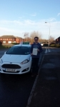 Oliver Hamill passed with Drivewell Driving Academy