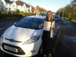 Olivia Woolley passed with Drivewell Driving Academy