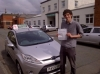 Ben Williams passed with Drivewell Driving Academy