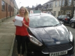 Rebecca Smal passed with Drivewell Driving Academy