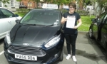 Rebekah Potton passed with Drivewell Driving Academy