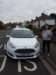 Rhiannon James passed with Drivewell Driving Academy