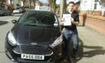 Ricardo Vieira passed with Drivewell Driving Academy