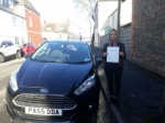 Ruhana Akhtar passed with Drivewell Driving Academy