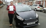 Siobhan Rudd passed with Drivewell Driving Academy