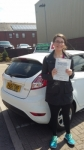 Stephanie Harkin passed with Drivewell Driving Academy