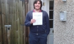 Thomas Mitchell passed with Drivewell Driving Academy