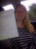 Angharad Williams passed with Drivewell Driving Academy