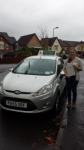 Georgia McCarthy passed with Drivewell Driving Academy