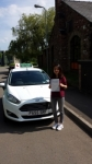 Jennifer Son passed with Drivewell Driving Academy