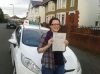 Katy Tanner passed with Drivewell Driving Academy