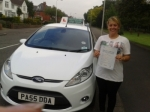 Marcie Richards passed with Drivewell Driving Academy