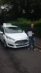 Nye Brown passed with Drivewell Driving Academy