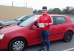 Adam Purcell passed with L 2 N Driving School