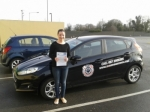 Christine Bugler passed with L 2 N Driving School