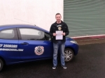 Cian O'Shaughnessy passed with L 2 N Driving School