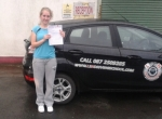 Emma Taylor passed with L 2 N Driving School