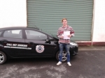 Fionan Coughlan passed with L 2 N Driving School