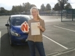 Jennifer Cunningham passed with L 2 N Driving School