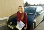 Jessica Shorten passed with L 2 N Driving School