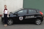 Karina Holly passed with L 2 N Driving School