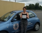 Laurianne Carmody passed with L 2 N Driving School