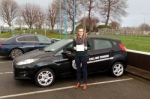 Lydia Prichard-Ellis passed with L 2 N Driving School