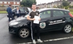 Oisin Hickey passed with L 2 N Driving School