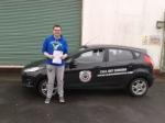 Padraig Frawley passed with L 2 N Driving School