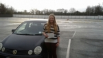 Rebecca Davies passed with L 2 N Driving School