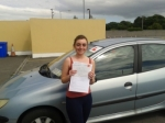 Saoirse Hickey passed with L 2 N Driving School