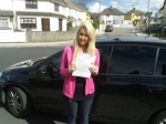 Sophie Shine passed with L 2 N Driving School
