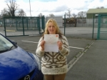 Sylvia Walsh passed with L 2 N Driving School