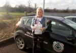 Zoe Lubek passed with L 2 N Driving School