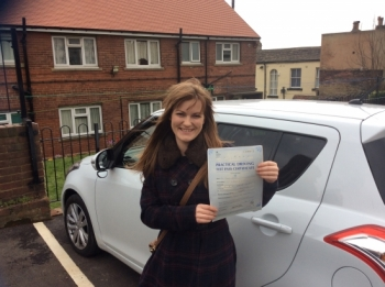 Thank you for teaching me your a fab instructor Im so happy I can finally drive all thanks to you Stuart xxx...