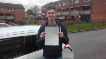 Thank you Stuart for getting me through my test FIRST TIME!! YOU´RE THE BEST!! Thanks for all your hard work and patience. Weve certainly had some laughs, will miss our drives. Top instructor!!...