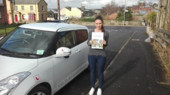 Thank you Stuart for helping me pass my driving test.  You have been so patient. At times I never thought I´d do it but you helped me with my confidence..I´m so happy. Thank you....