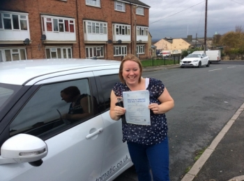 A big thank you to Stuart at Rev and Go for his patience, he taught me for over a long period and I have gone from a nervous driver with no confidence to a confident one, I would not recommend anyone else, thanks again Donna....