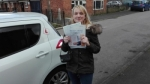 Alice Garland - Birstal passed with Rev and Go Automatic Driving School
