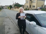 Amanda Taylor - Mirfield passed with Rev and Go Automatic Driving School