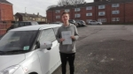 Declan Peacock-Temple - Morley passed with Rev and Go Automatic Driving School