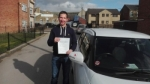 Michael Etherington - Mirfield passed with Rev and Go Automatic Driving School
