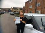 Michelle Coles - Heckmondwike passed with Rev and Go Automatic Driving School