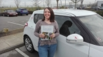 Rachel Arrowsmith - Morley passed with Rev and Go Automatic Driving School
