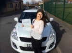 Rosie Saavedra - Batley passed with Rev and Go Automatic Driving School