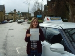 Samantha Louise Smith passed with Rev and Go Automatic Driving School
