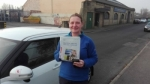 Sara Youngman - Cleckheaton passed with Rev and Go Automatic Driving School