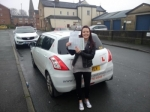 Shelley Roberts - Ravensthorpe passed with Rev and Go Automatic Driving School