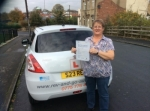 Susan Crabtree passed with Rev and Go Automatic Driving School