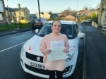 Tracy Mcdonald - Birstall passed with Rev and Go Automatic Driving School